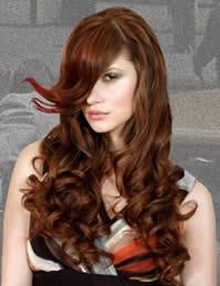 capelli ricci con ciuffo novità 2011