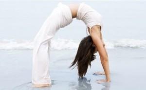 Yoga spiaggia - Posizione del Ponte
