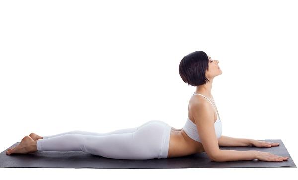Yoga contro la cervicale - Posizione della sfinge